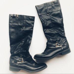 Dolce Vita Black Boots 7.5